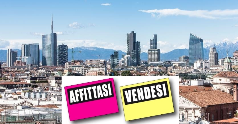 Immobili appartanenti loft ville negozi showroom laboratori capannoni in vendita e affitto a Milano