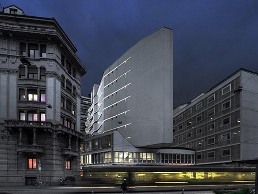 Edificio La Nave architetto Luigi Moretti