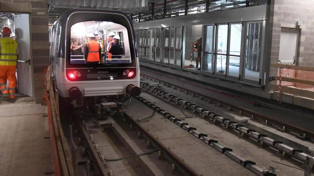 Metropolitana 5G tratta Linate Forlanini